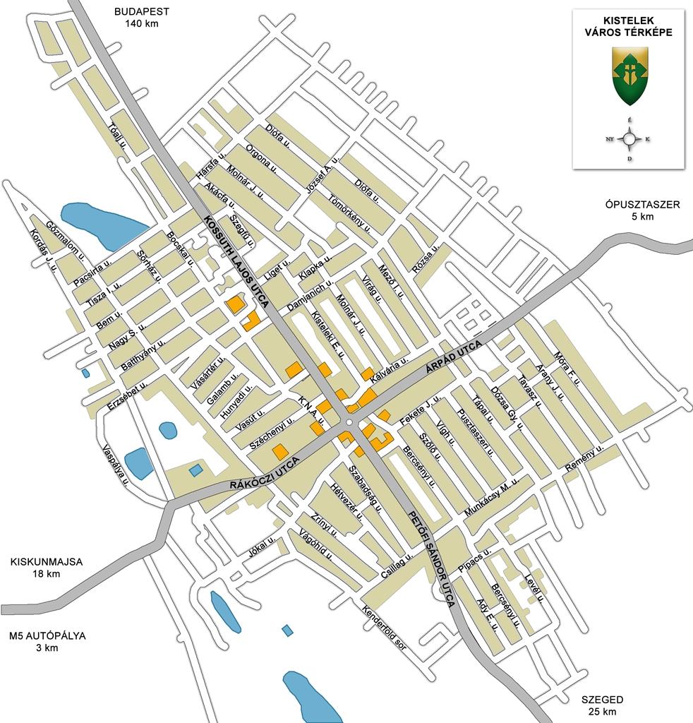 kistelek térkép Kistelek város honlapja kistelek térkép